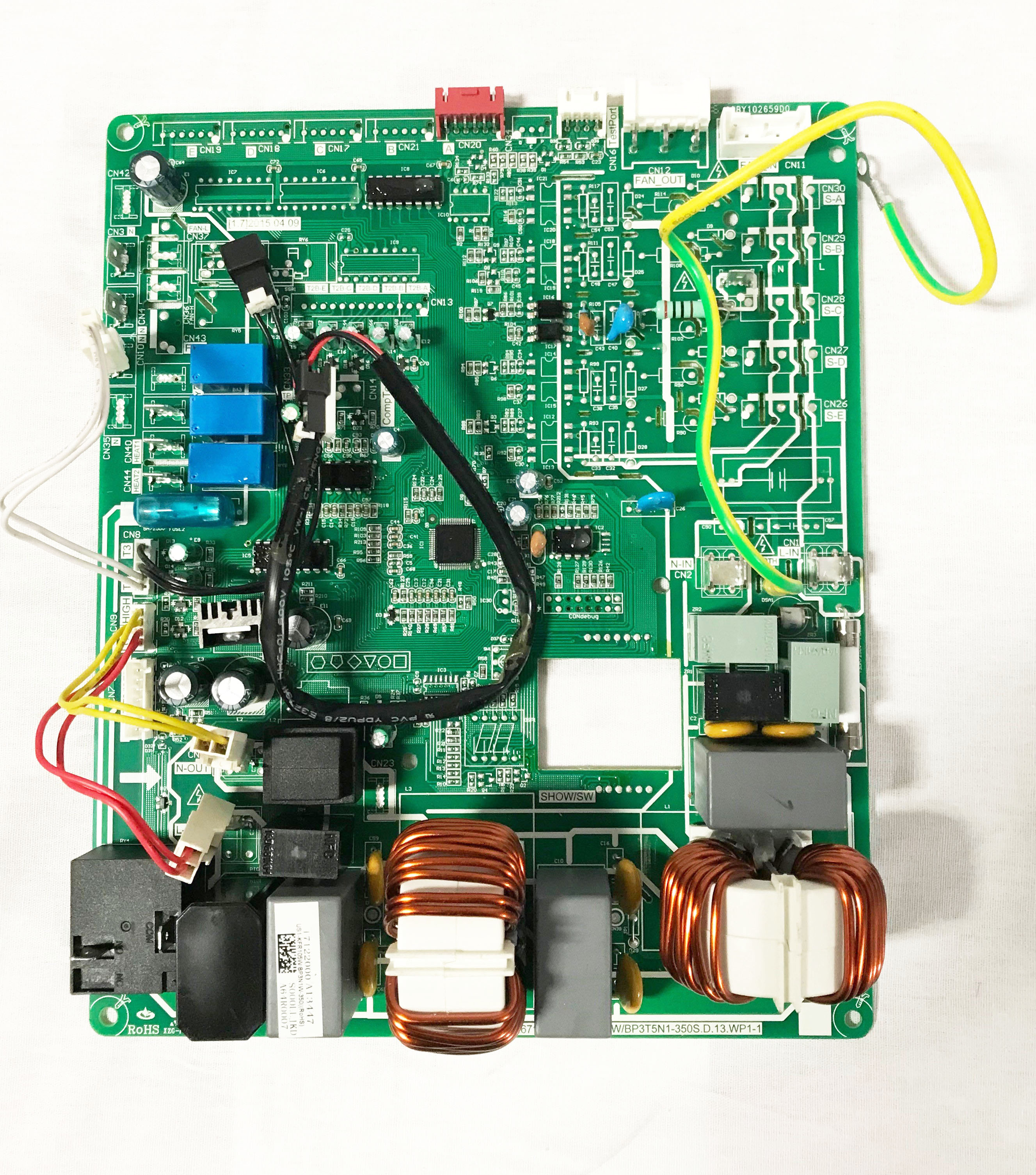 T1 Circuit Board Wiring Diagram Services Jack Wall Mount Air Handlers Control Thermocore Systems Rh Thermocoresystems Com